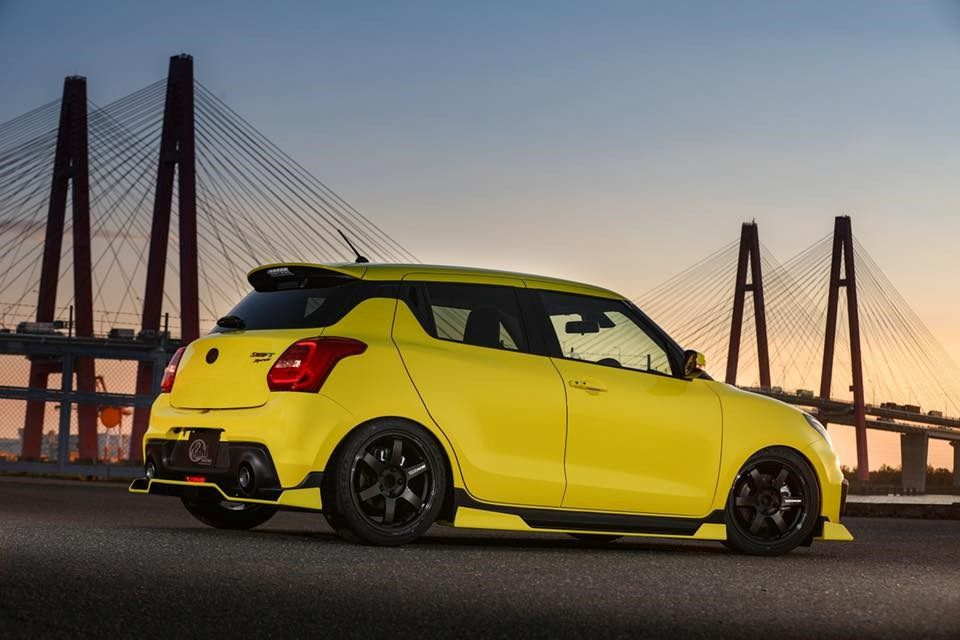 Suzuki Swift Sport Gets A Bit Aggro With New Jdm Body Kit