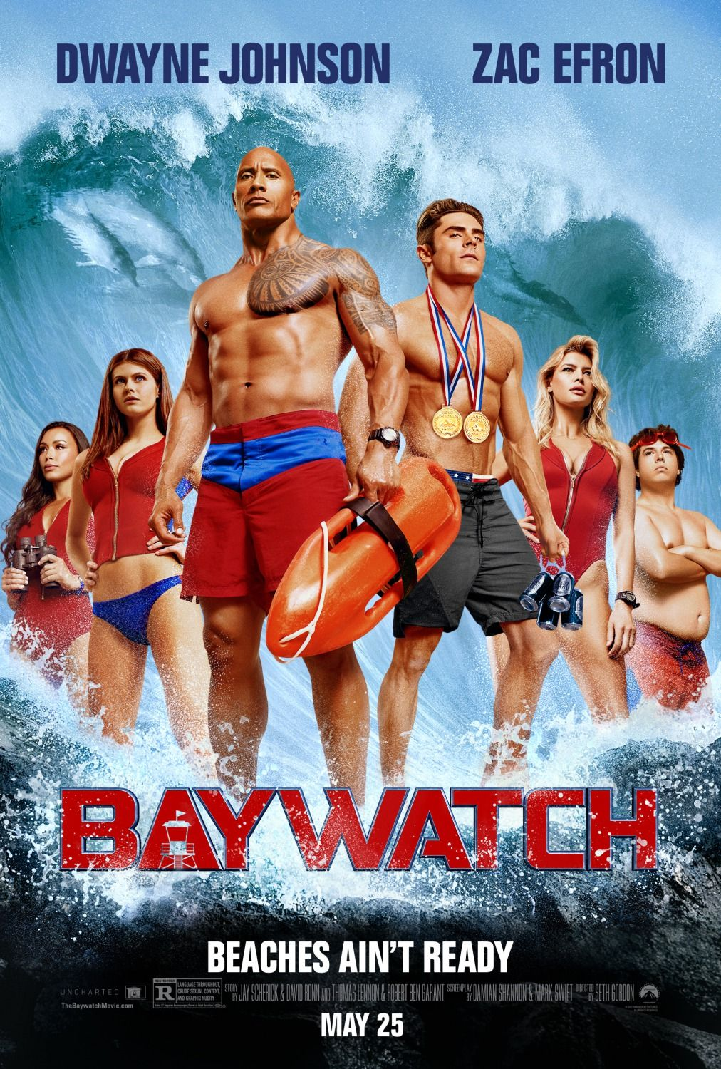Baywatch 2017 movie poster 3 posters pinterest baywatch 2017 baywatch 2017 movie poster 3 fandeluxe Image collections