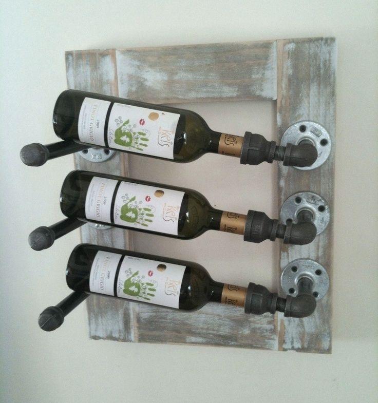 Wijnrek Maken Van Steigerhout Steigerhout Huis Ideeën