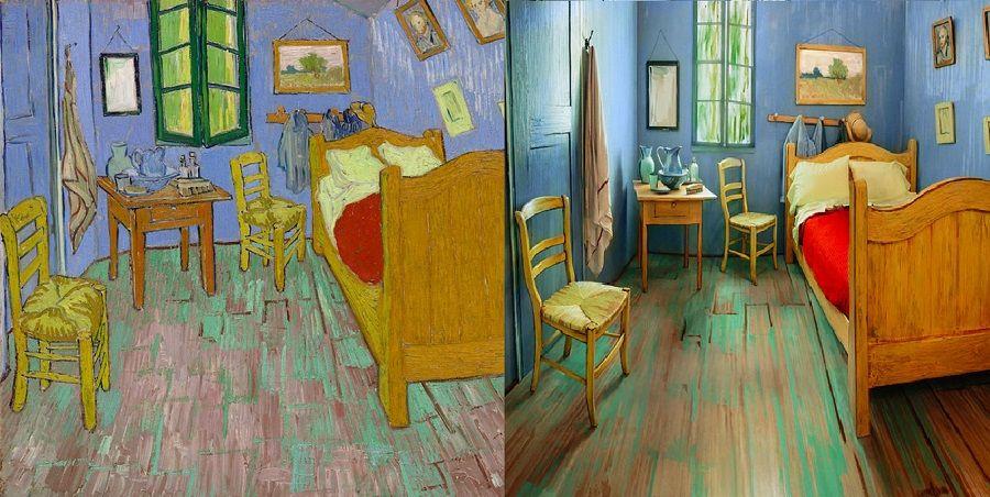 Passer la nuit dans une toile de Van Gogh est désormais possible - Description De La Chambre De Van Gogh