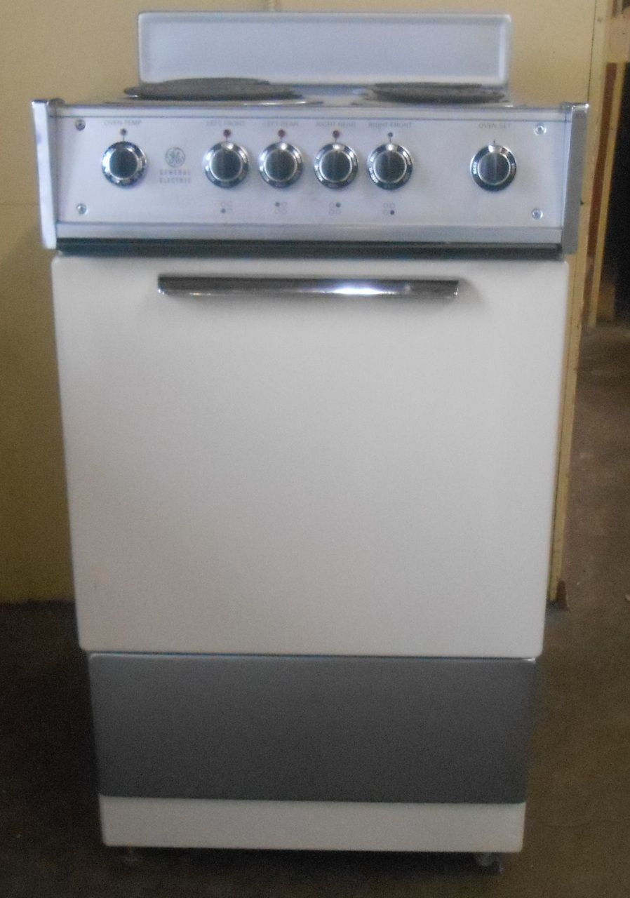 Appliance City - GE 21 INCH FREESTANDING ELECTRIC RANGE COIL BURNERS ...