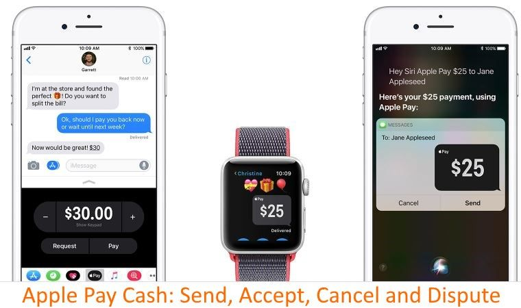 How to Cancel Apple Pay Cash Payment, History, Accept