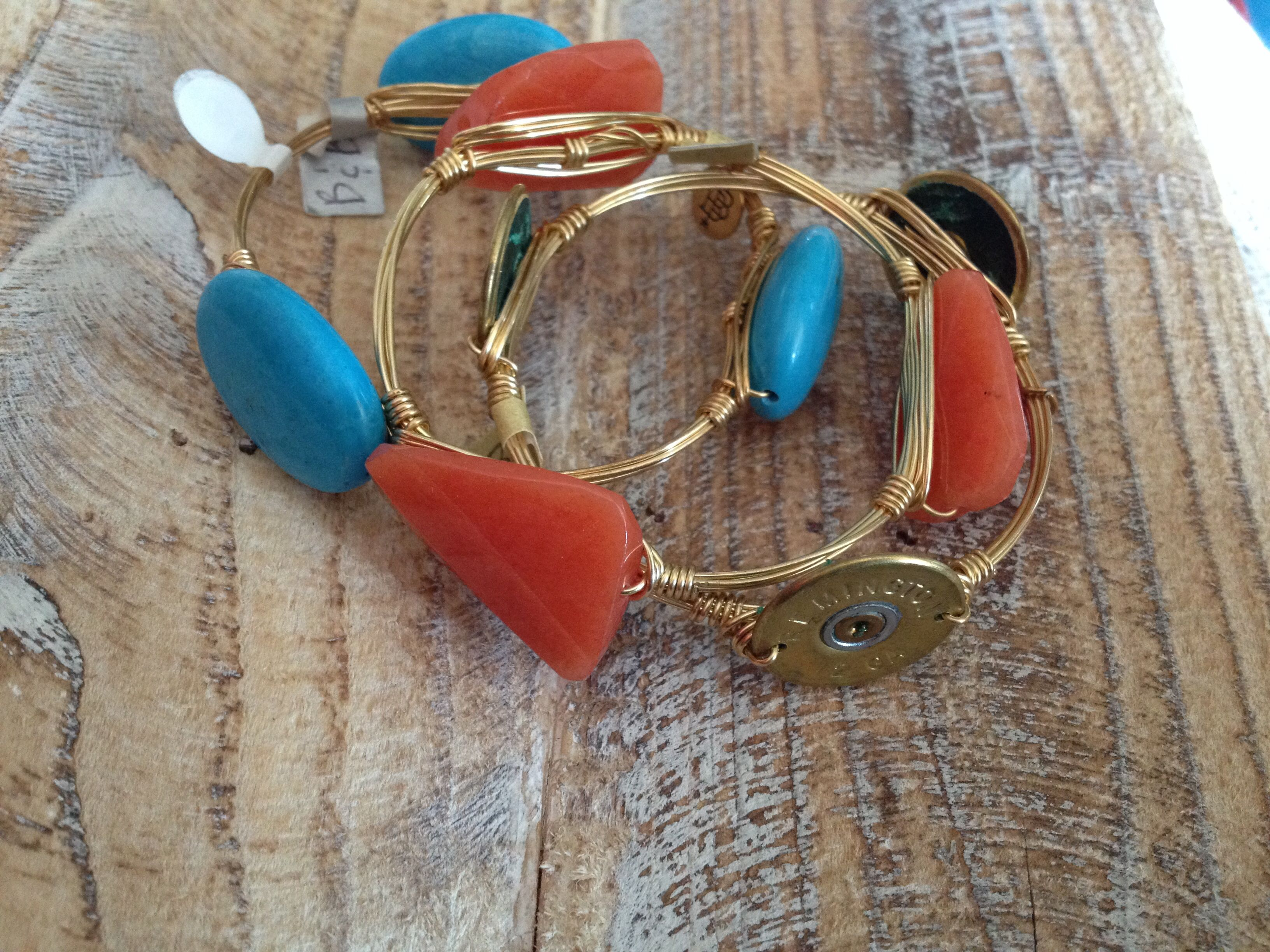 Bourbon and Boweties! Browse our Facebook album of In Stock bangles Facebook.com/twocumberland and message us to order! FREE SHIPPING!