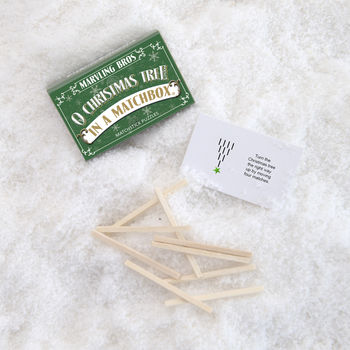 Matchstick Puzzles Six Alternative Christmas Crackers in