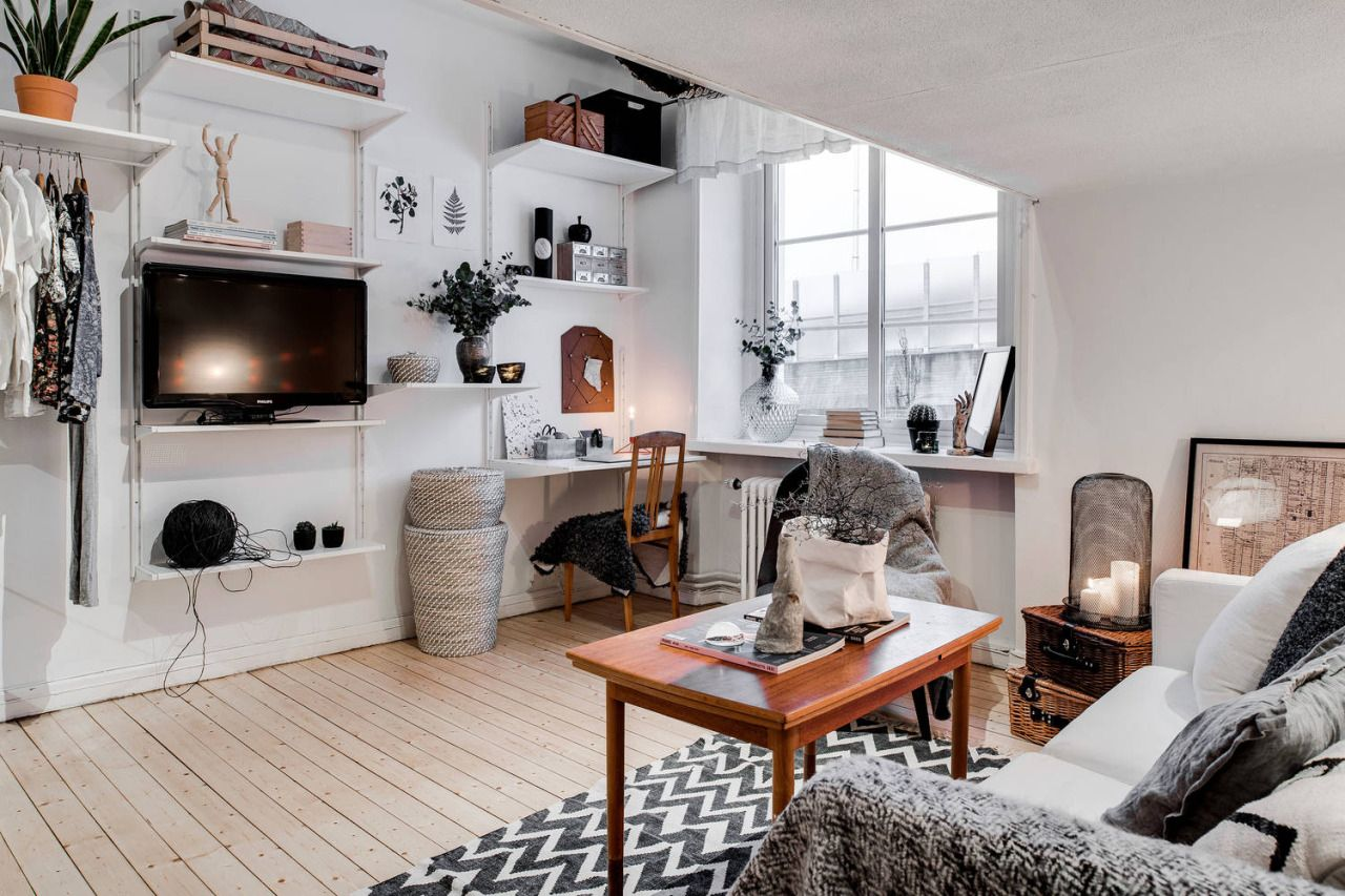 Home interior ideas for apartments pinterest nuggwifee  interiores  pinterest  studio apartment