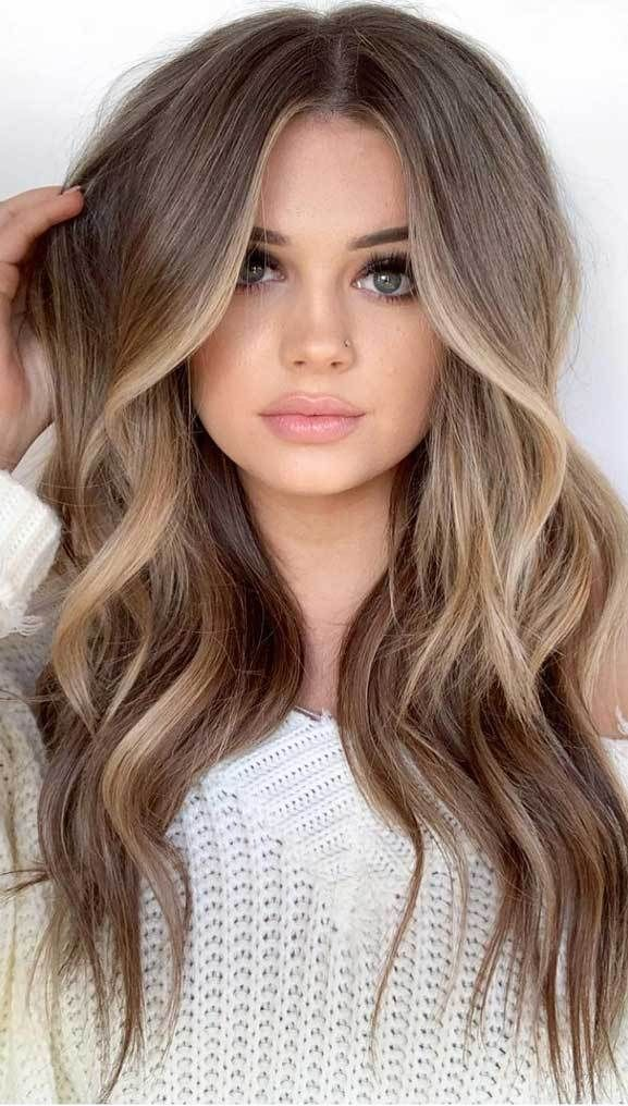 Pin By Laura On Hair And Makeup In 2020 Brown Hair Tones Types Of Hair Color Cool Brown Hair