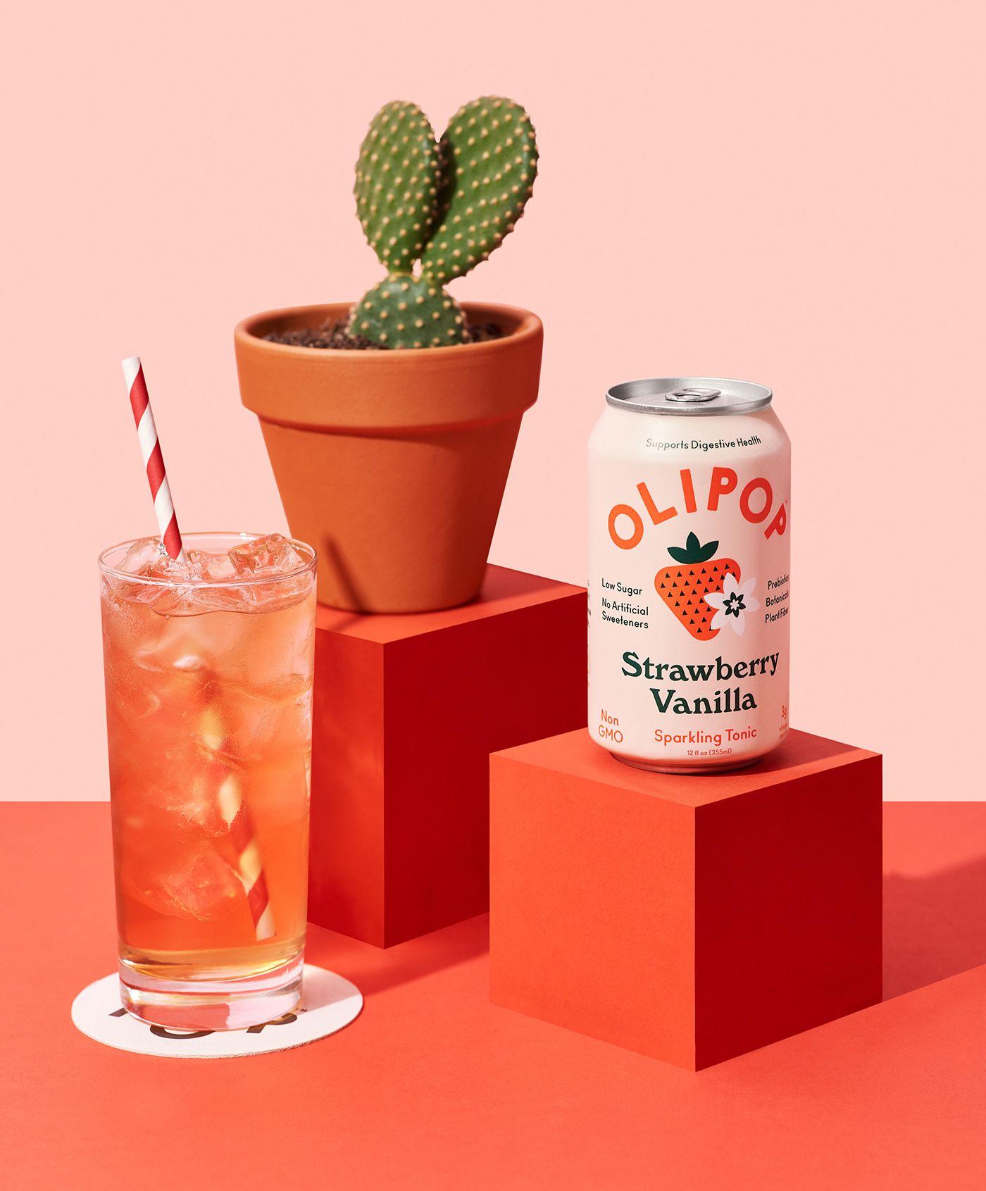 Olipop On Behance Food Poster Design Branding Design Branding Design Inspiration