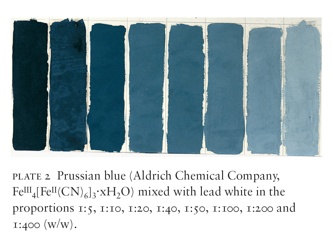 Cama eu de bleu de prusse du presque noir au gris bleut - Camaieu de bleu peinture ...