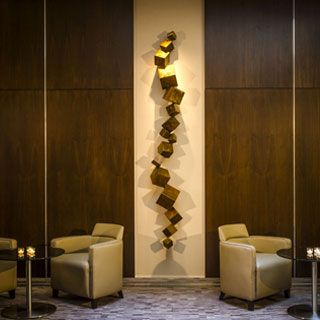 Metal Sculptures From Eaton Fine Art   Hospitality Design