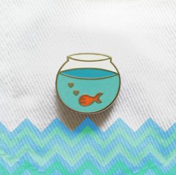 Bloup an aquarium pin. for an aquatic kinda day. bloup bloup. | kids