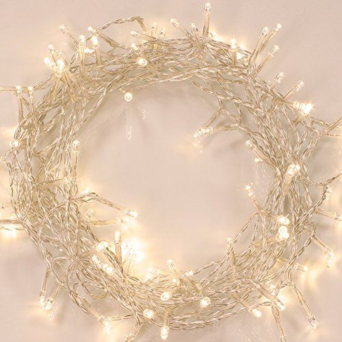 Battery Operated Waterproof Fairy Lights With 10m 100 Warm White Leds Koopower Http Www A Fairy String Lights Led Fairy String Lights Christmas Tree Lighting