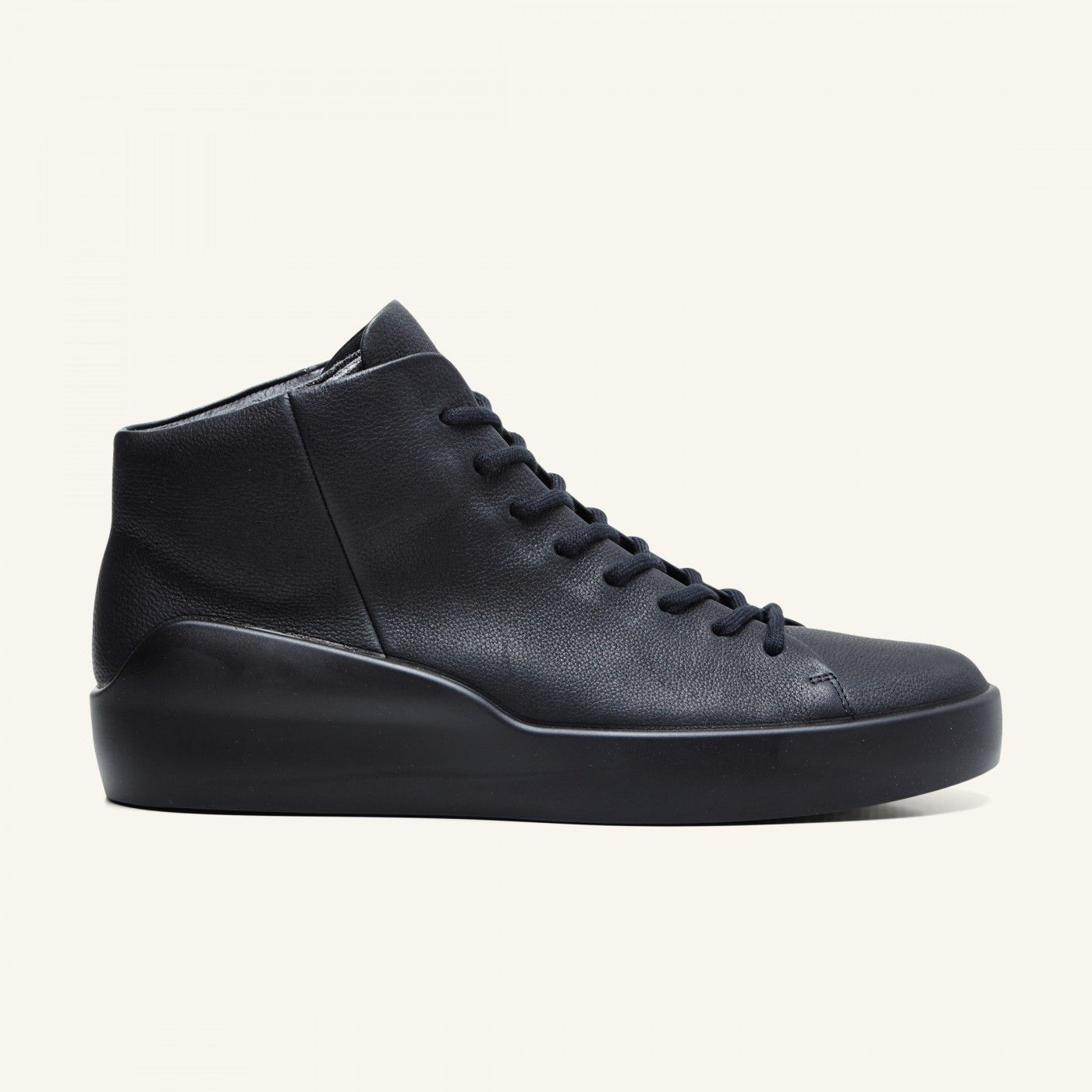 Leather sneakers · Ecco x The Last Conspiracy - Asger - black/black