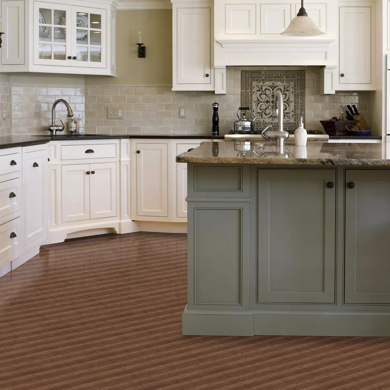 Pin by Suzanne Dood on Kitchens in 2020 Vinyl tile