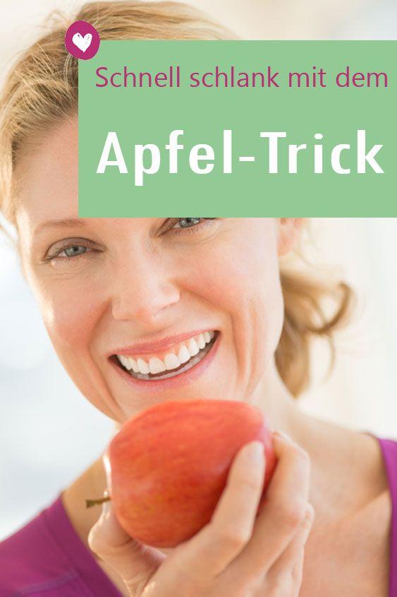 Abnehmen mit dem Apfel-Trick