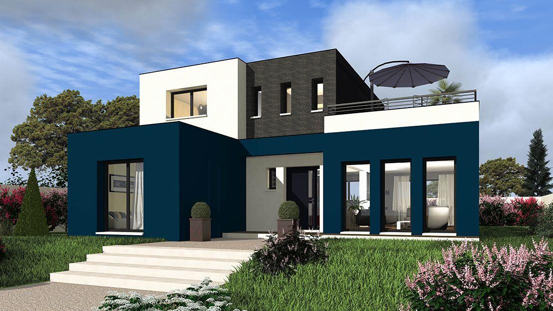 Maison tertre 145 maisons berval 306900 euros 145 - Faire construire sa maison cout ...