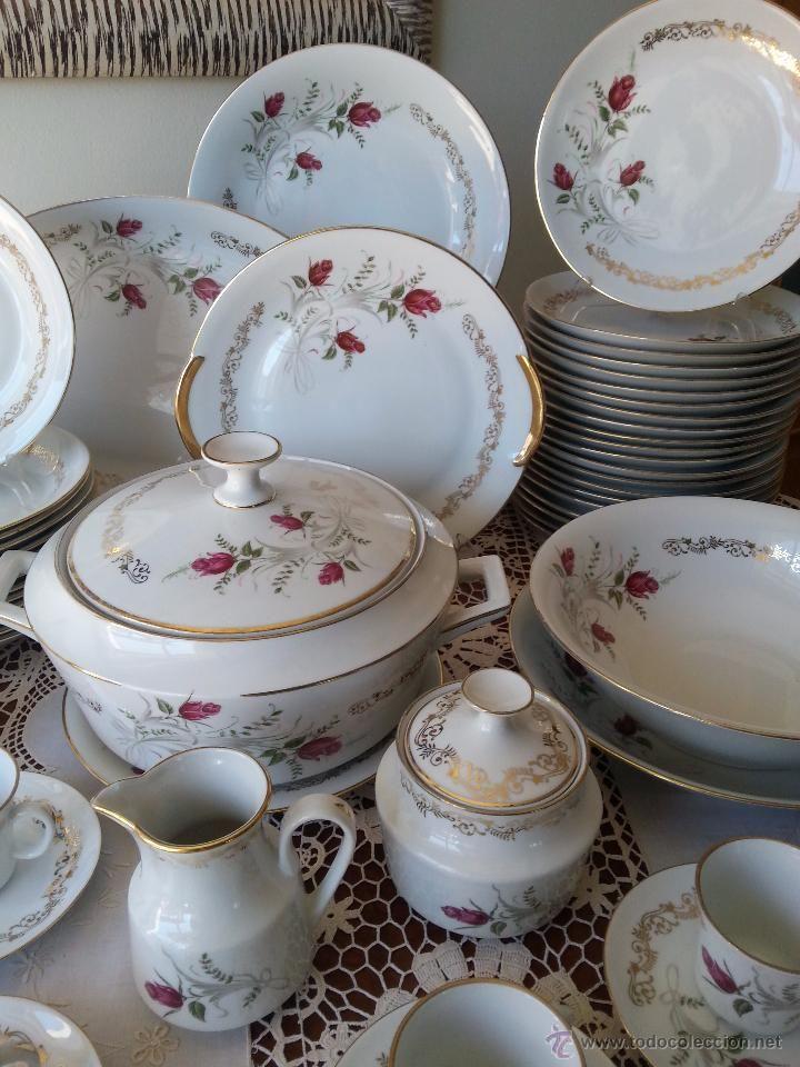 Vajilla de porcelana de limoges 75 piezas foto 6 - Vajilla de porcelana ...