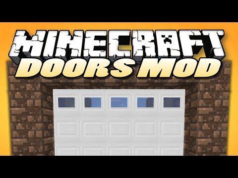 Minecraft Mods Malisis Doors Sliding Doors Block Mixing