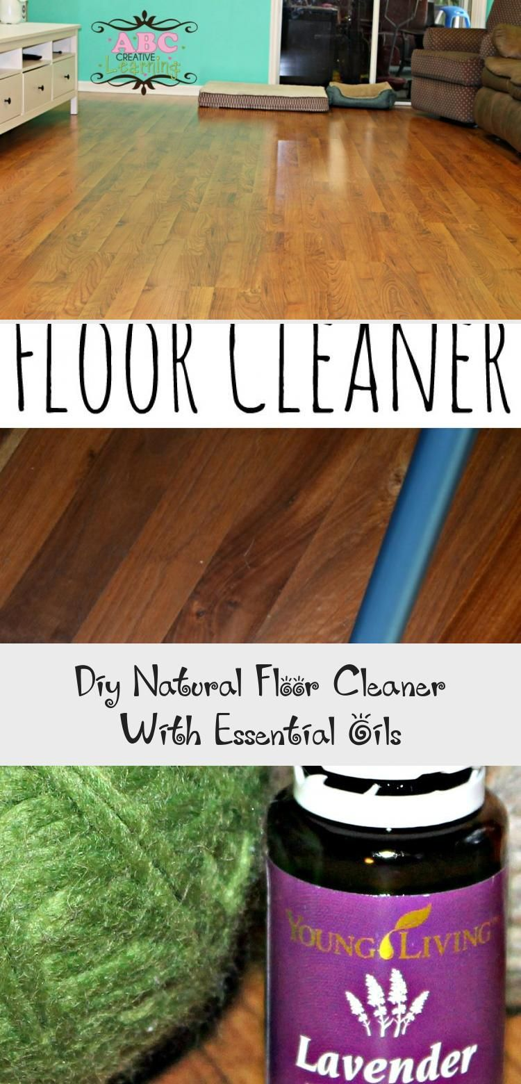 Easy diy natural floor cleaner for laminate floors with