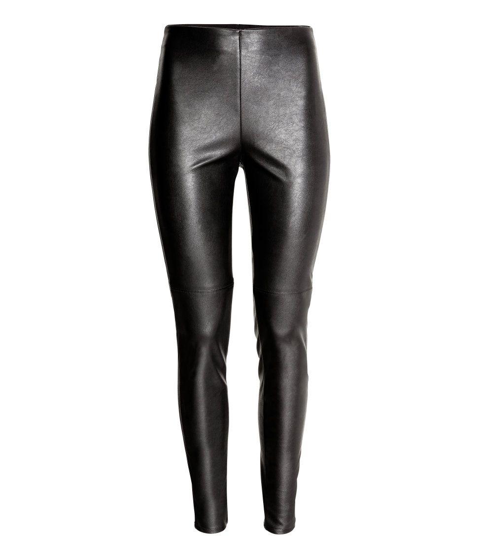 3e92051b712c1 Imitation Leather Leggings | H&M Divided | H&M DIVIDED GIRLS ...