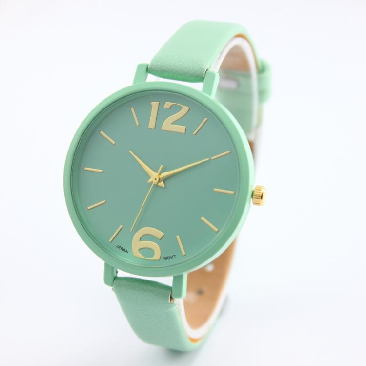2f62772070a Barato Assistir Mulheres Relógios de Genebra Reloj Mujer Relogio feminino  Marcas Famosas Big Mostrador Analógico Relógio Elegante Meninas