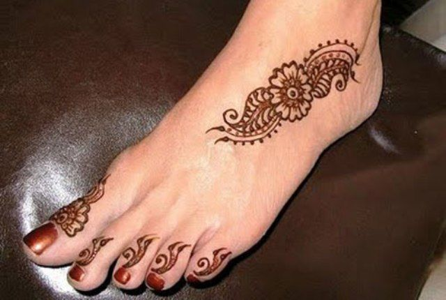 Small Mehndi Designs For Legs Valoblogi Com