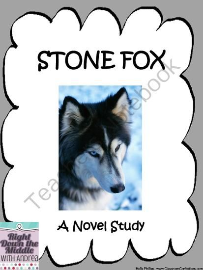 stone fox by john reynolds gardiner novel study from right down the