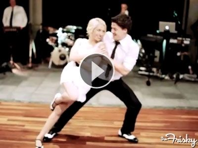 Adorable Couples Swing Dancing First Dance At Wedding Is The One To Beat