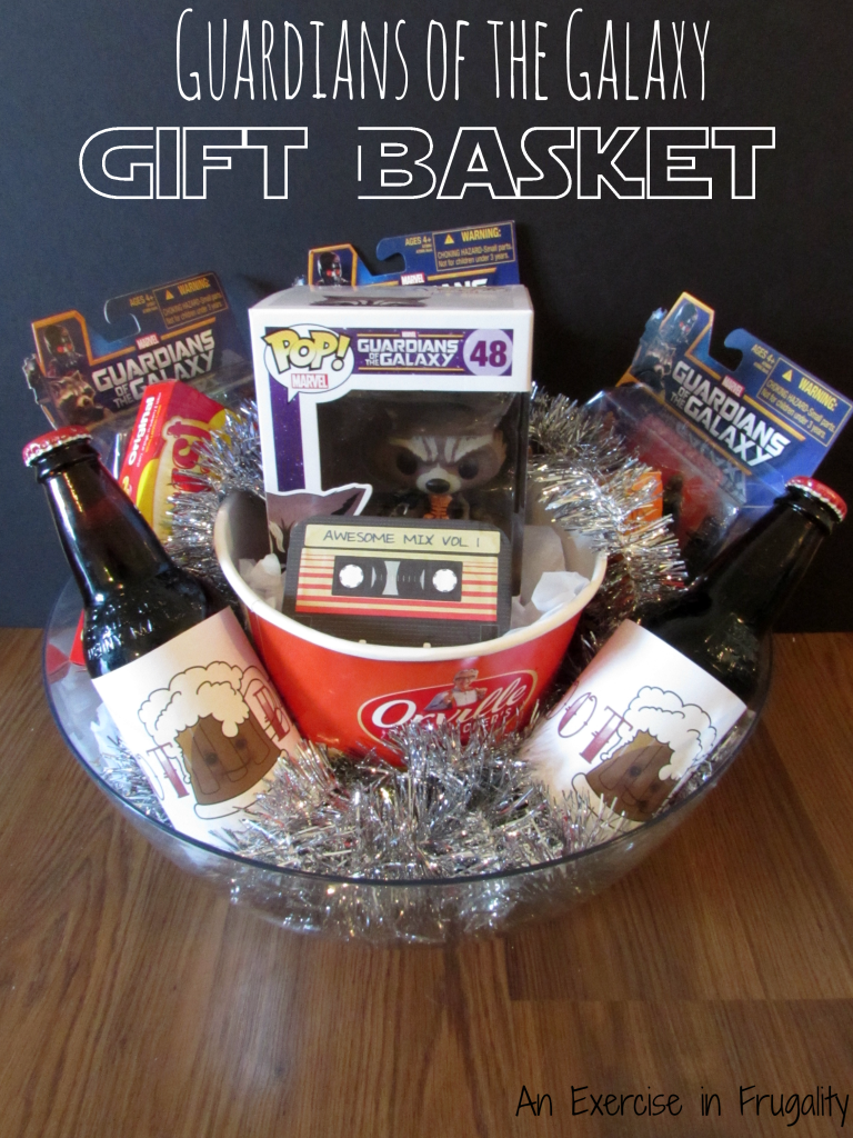 Guardians Of The Galaxy Gift Basket Perfect For Any Marvel
