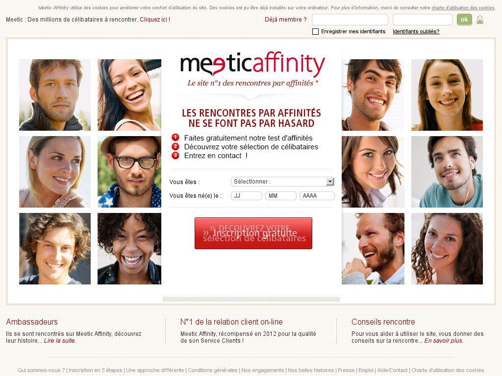 Site de rencontre sérieux par affinités | Affiny par Meetic