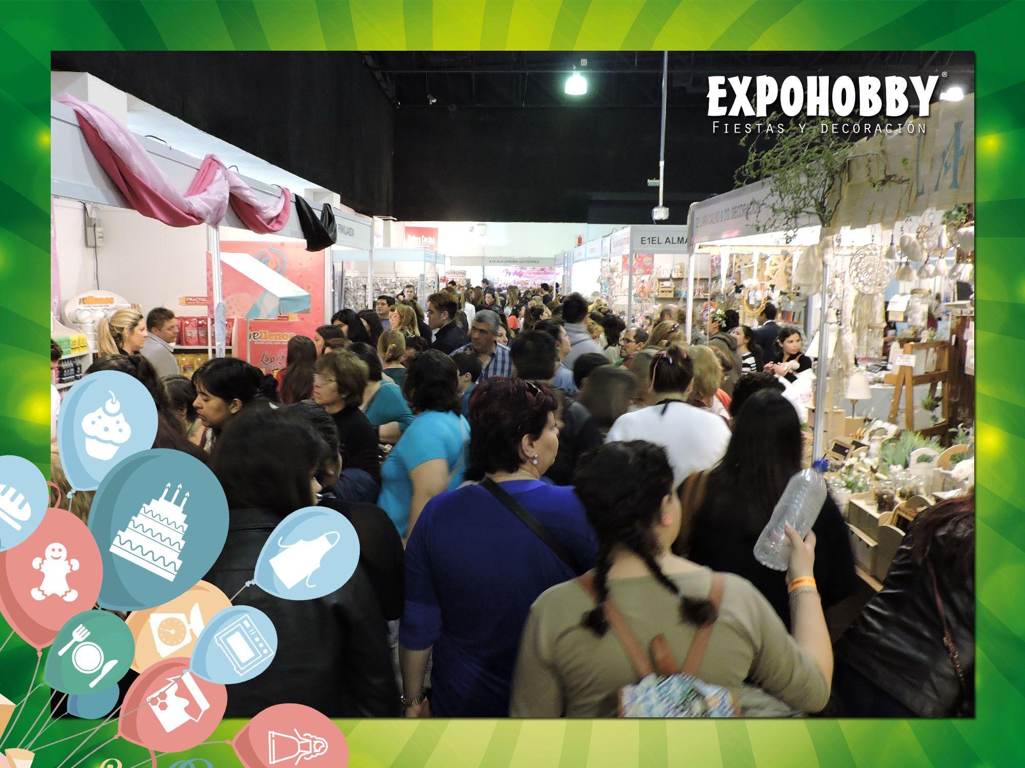 MAÑANA ÚLTIMO DÍA!! Vení y encontrá todo lo que buscas!! Estamos de 13 a 20 hs. #Expohobby #Fiestas #Decoración #Veni #EncontraLoQueBuscas #Buses #Talleres #VentaDeInsumos #MesasExpositoras #LosMejoresProfesionales #LasMejoresMarcas #Ambientaciones #Shows #CabinaSelfie #Sorteos #GrandesPremios #Hoy #TengoGanasDe #IrAExpohobby
