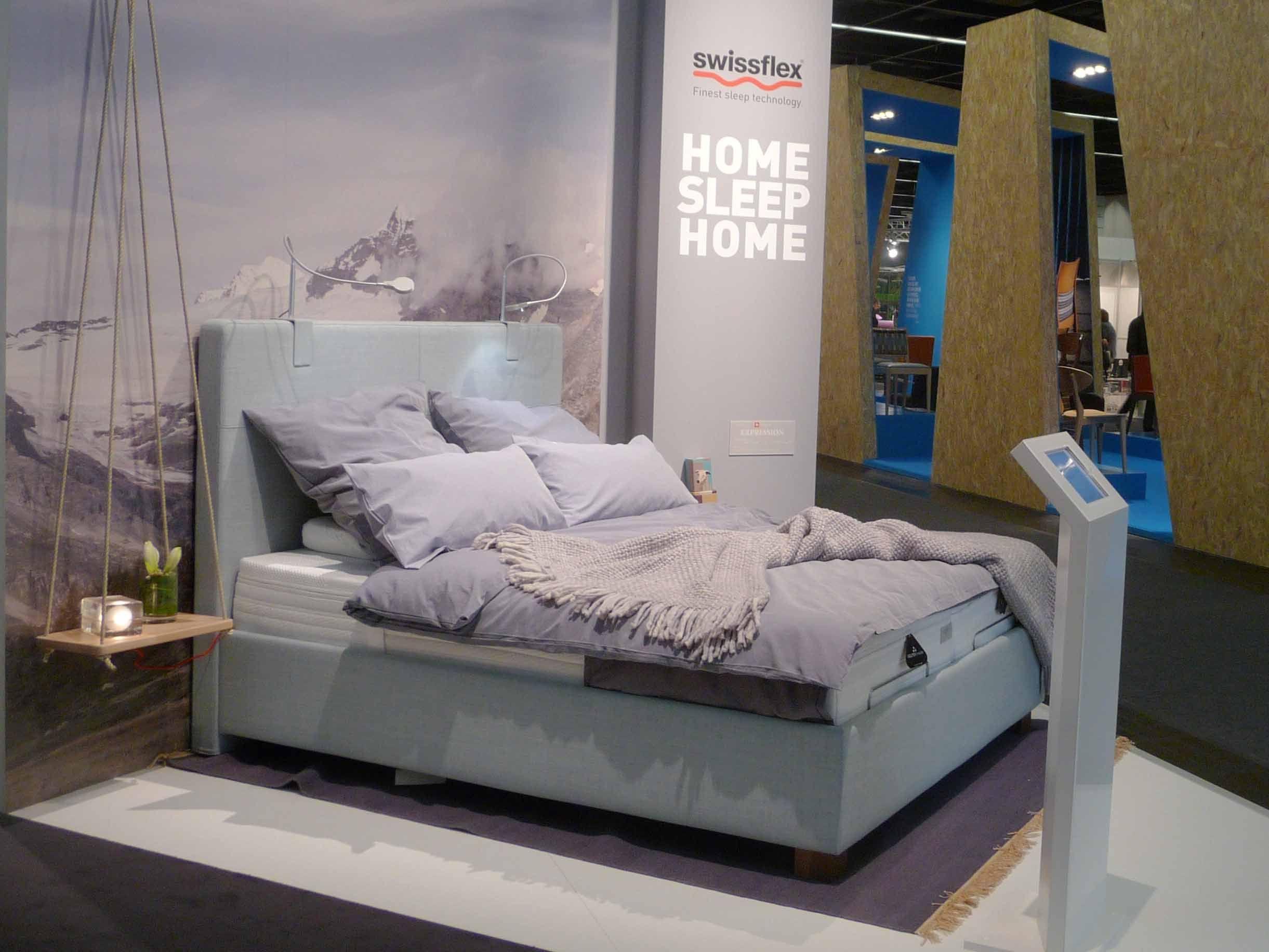 Schlafzimmer Köln pin swissflex auf imm cologne 2016 betten und