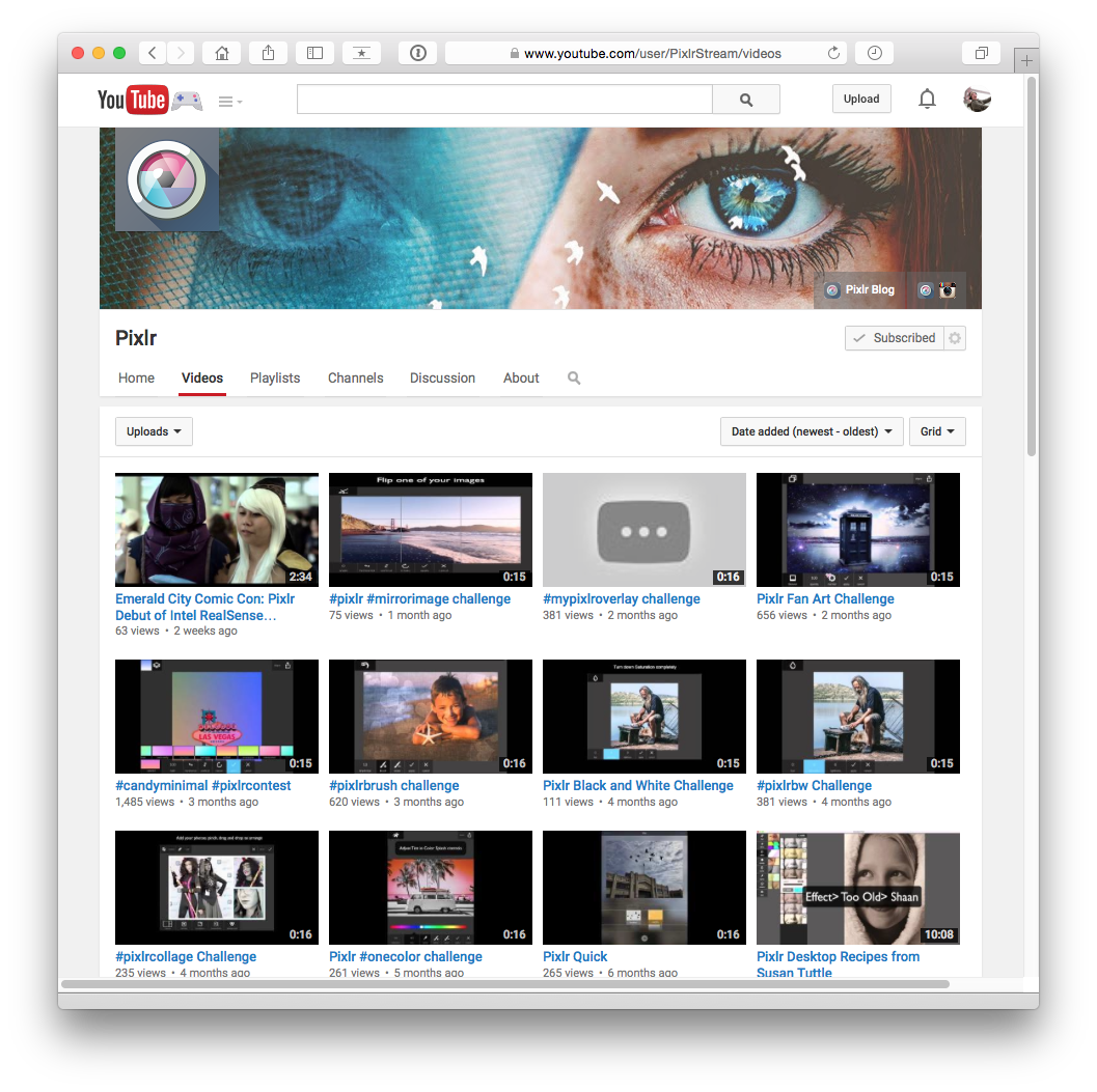 Youtube Channel Banner Maker: Free Downloadable YouTube Banner Template For Pixlr Editor