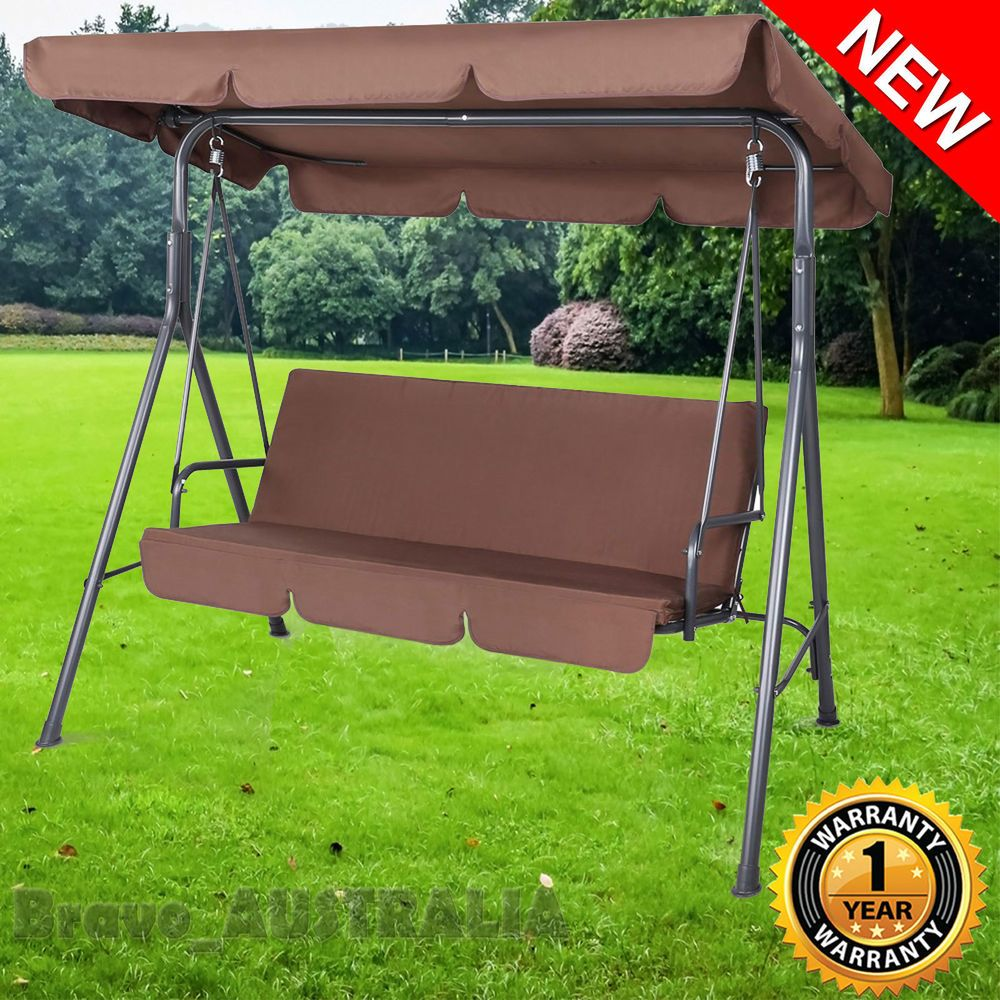 Outdoor swing seat chair set bed canopy swinging chair garden