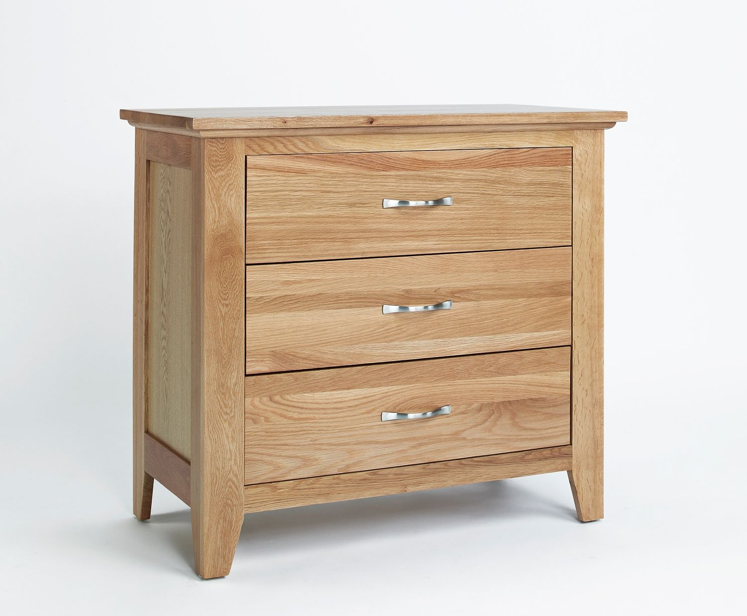 sherwood oak 3 drawer chest