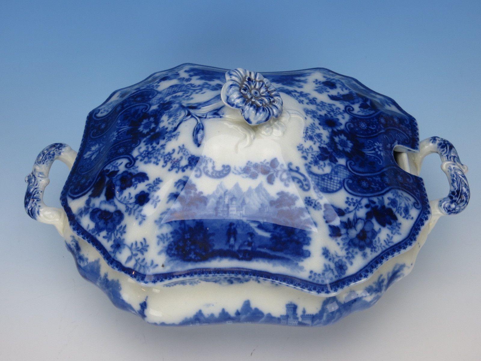 Burgess Leigh Middleport Pottery Nonpareil Flow Blue