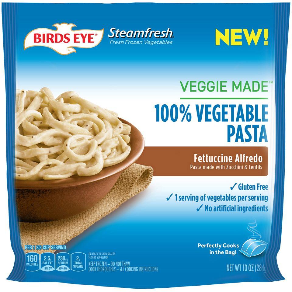 2 97 Birds Eye Steamfresh Veggie Made Lentil Fettuccine Alfredo Pasta Alternative Nutritious Snacks Pasta Made From Vegetables