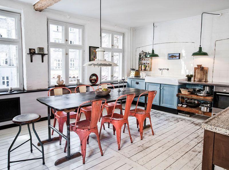 La maison de Leif Thingtved, un ancien atelier rénové avec passion