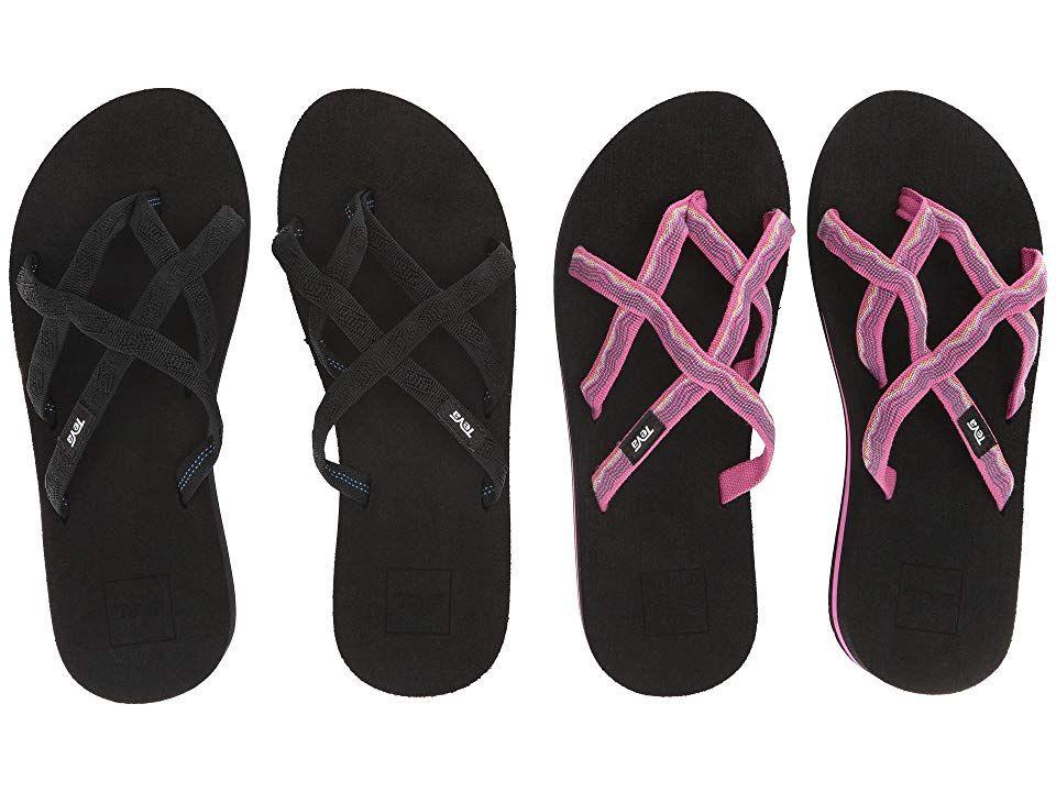 7e9b60b5fe4cac Teva Olowahu 2-Pack (Mbob Vida Raspberry) Women s Sandals. Give your ...