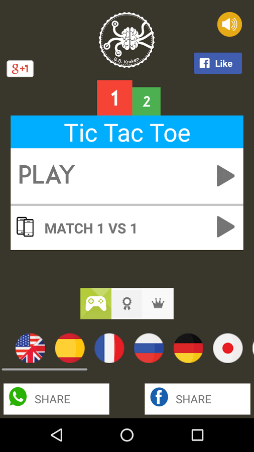 Tic-Tac-Toe by Big Brain Kraken Android Game Review | tCubed