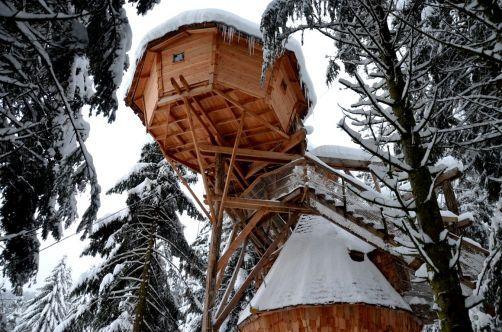 La Clairiere Aux Cabanes Hebergement Insolite Dans Les Vosges Vosges Cabane Insolite Hebergement Insolite