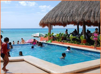 Mr Sanchos Beach In Cozumel