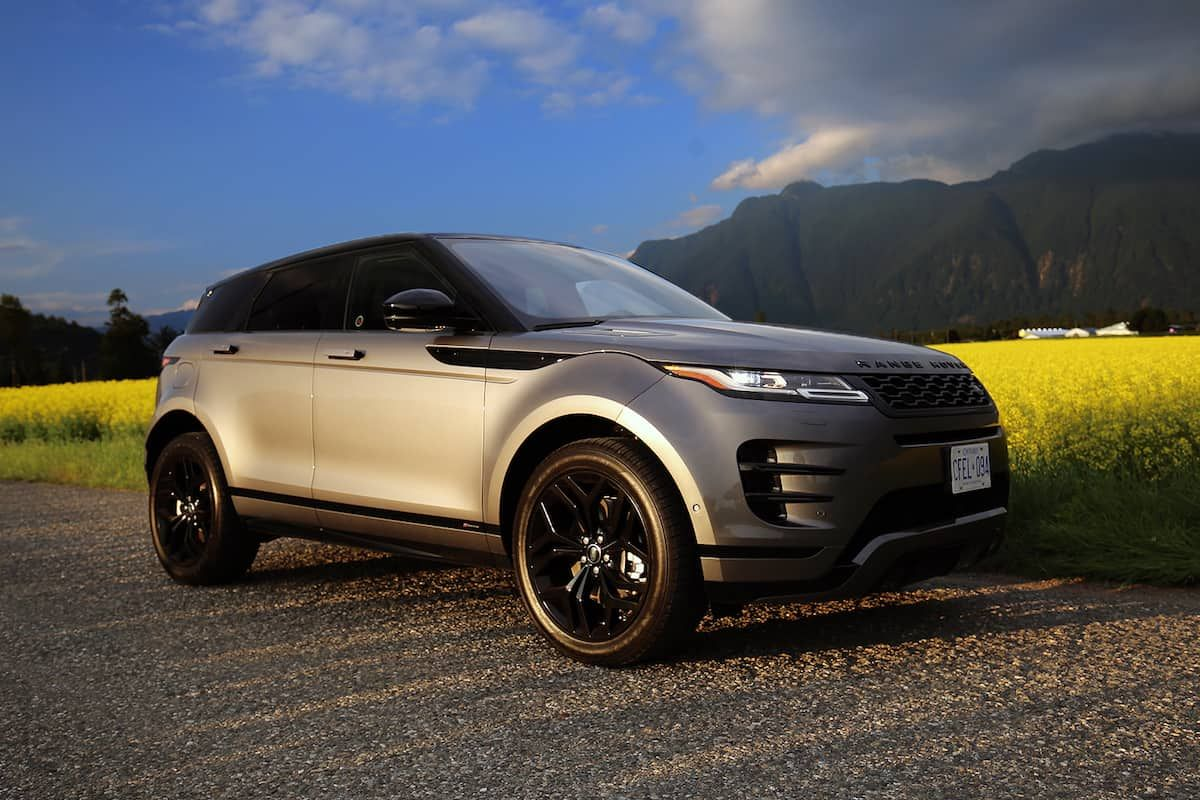 2020 Range Rover Evoque Review Range