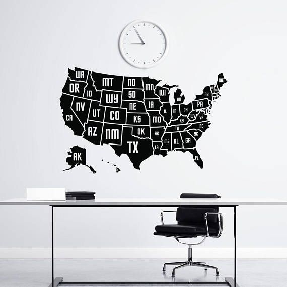 Wall Decal USA AMERICA MAP - Map of the United States ... on usa map paint, usa map clip, usa map license plate, usa map wall, usa map banner, usa map label, usa map hat, usa map design, usa map wood, usa map vinyl, usa map poster, usa map clock, usa map frame, usa map decor, usa map book, usa map illustration, usa map panel, usa map guide, usa map mural, usa map shirt,