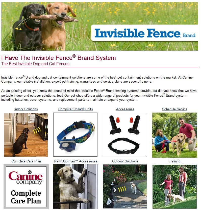 Invisible Fence® Brand dog and cat containment solutions for ...
