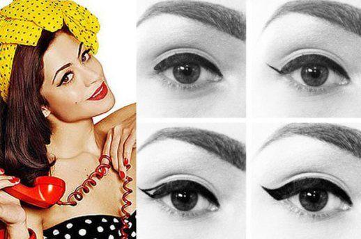 5 Tipos de delineados para los ojos - Actitud de Mujer