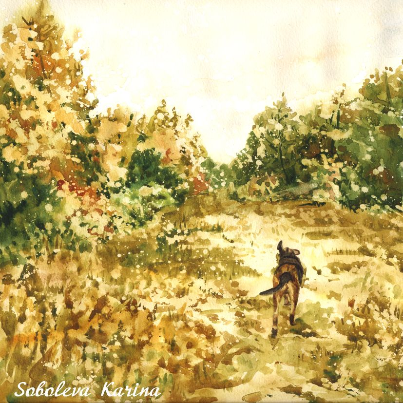 Your favorite place is unlike anywhere else in the world. So why should your #Watercolor painting be generic? SobolevaArt custom paintings consistently receive double takes with their intricate detail. /www.etsy.com/listing/459249140 #paintingLandscape #Landscape #Customlandscape #PaintingWatercolour #dogart