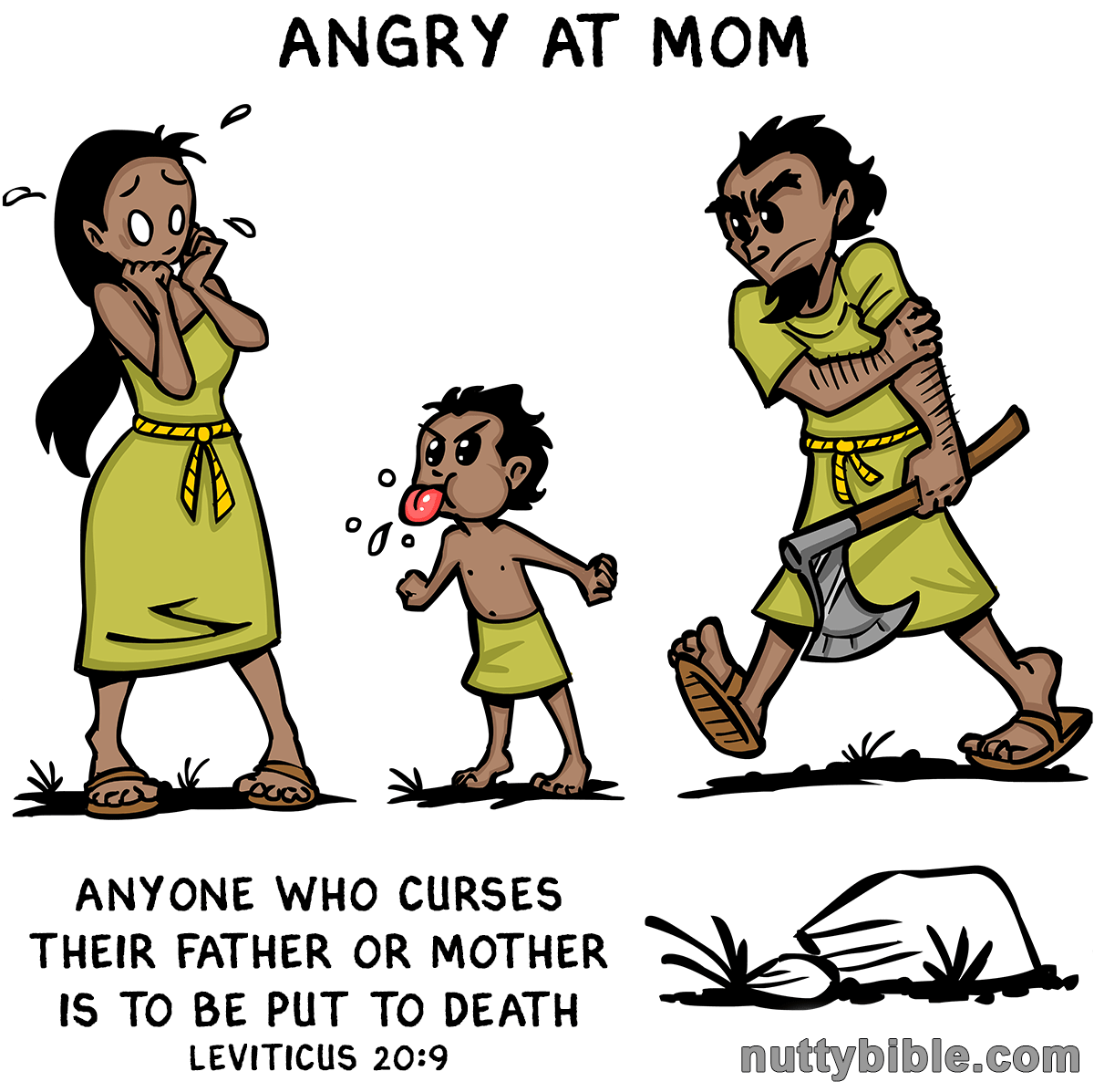 anyone who curses their father or mother is to be put to death