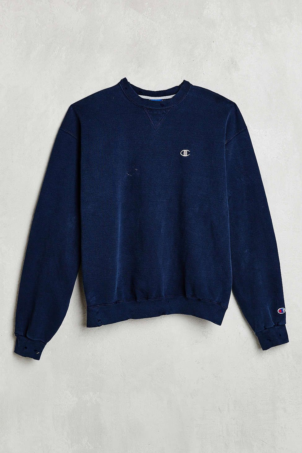 03194d065b6a Vintage Champion Blue Sweatshirt