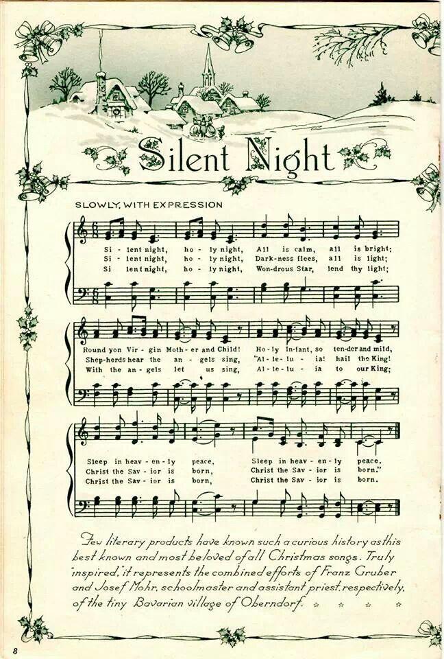 Grungy Aged Vintage Christmas Carol Music Digital Sheet Etsy Christmas Sheet Music Music Crafts Christmas Printables