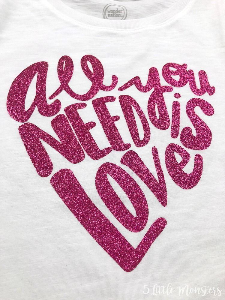 Download All You Need is Love Valentine's Shirt- with free SVG in ...